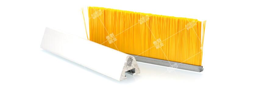 自动扶梯两侧的毛刷